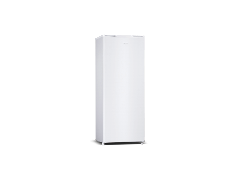 1-Door White 243L Fridge
