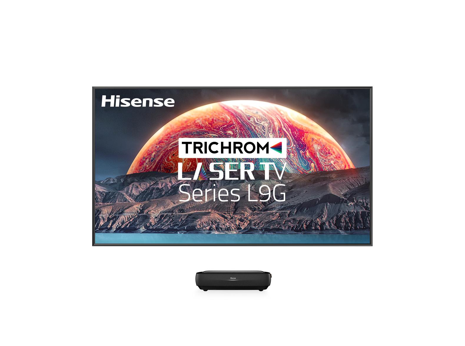 100″ TriChroma Laser TV Series L9G
